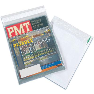 Magazine Bag sealed with bag sealing tape