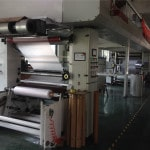 Machine used to print on the liner of bag sealing tape