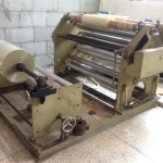 Machine used to cut the film of bag sealing tape