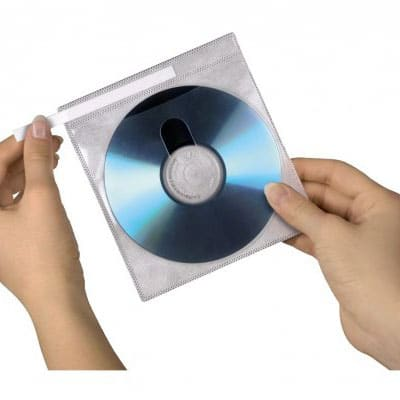 dubbel dvd sleeves sealed by bag sealing tape