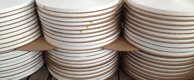 white color permanent sealing tape