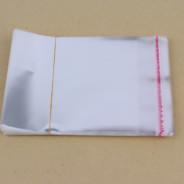 OPP bag with HDPE resealable bag sealing tape