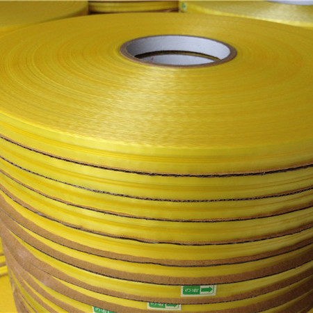 Yellow Release Film Center Bag Sealing Tape